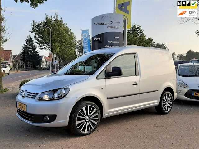 Volkswagen Caddy 1.6 TDI Airco Cruise Navi Nap Boekjes 1e Eigenaar