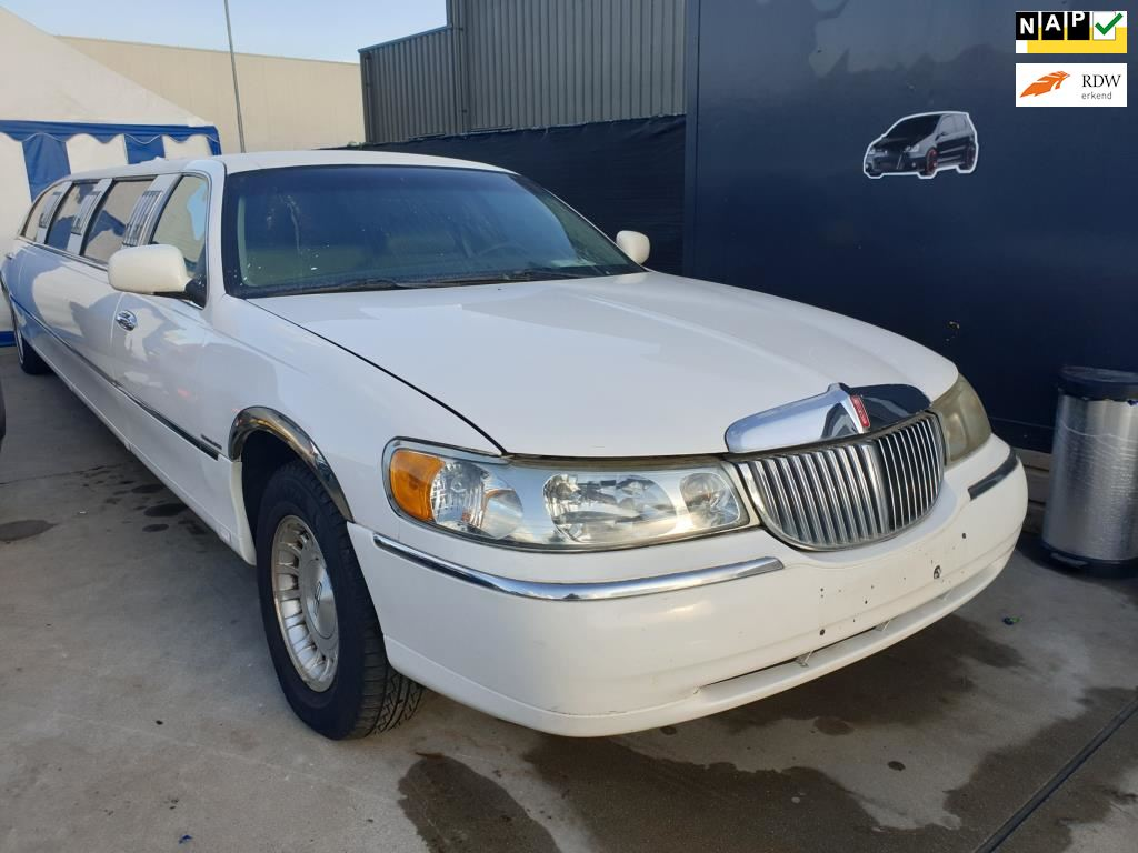 Lincoln Town Car occasion - Van Wanrooy Auto's