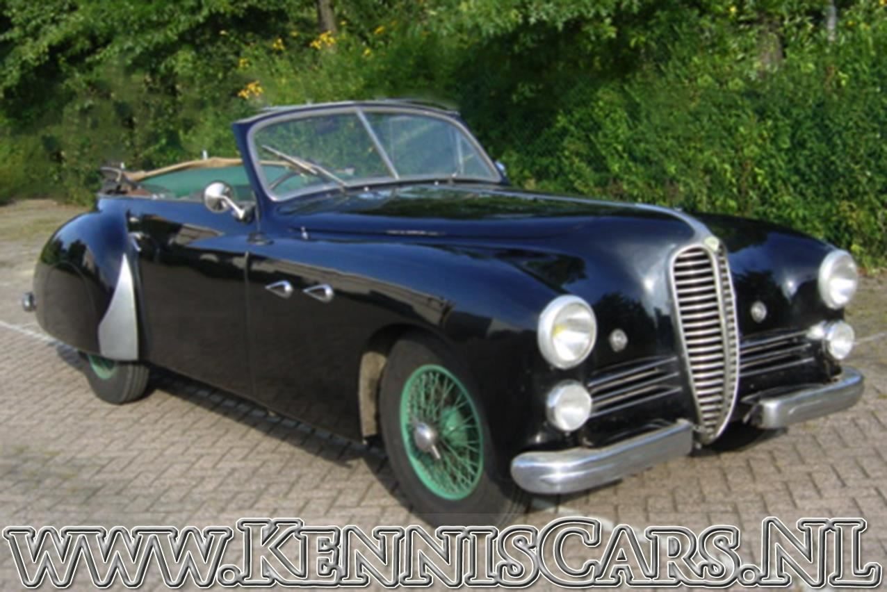 Delahaye 1949 135 MS Saoutchik Convertible occasion - KennisCars.nl