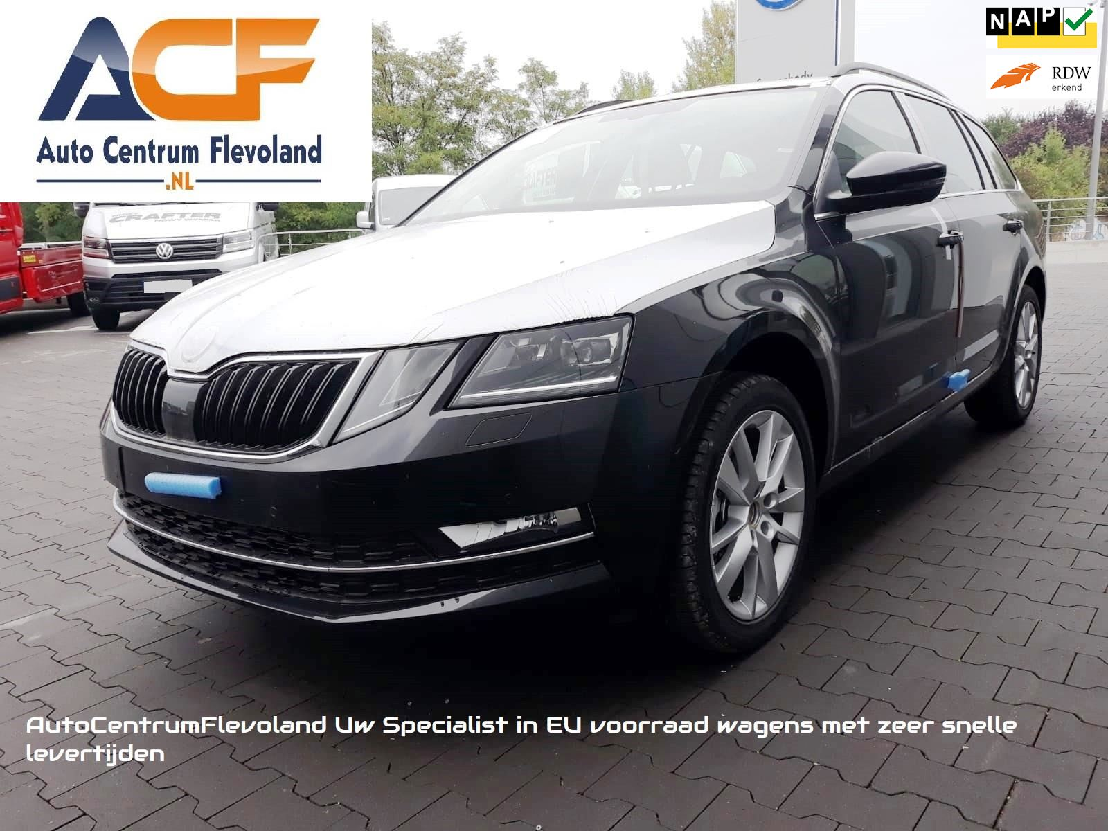 Skoda Octavia Combi 1.5 TSI Greentech Style Business LED Car-play occasion - Autocentrum Flevoland