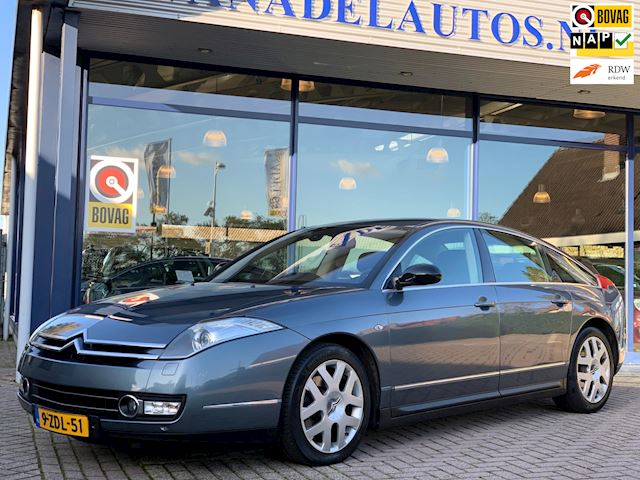 Citroen C6 3.0 V6 Exclusive Aut. Leer Navi Xenon Full-option NAP Dealeronderhouden!