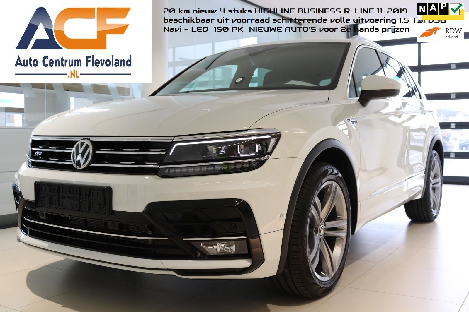 Volkswagen Tiguan 1.5 TSI 150 PKACT NAVI LED Highline Business R occasion - Autocentrum Flevoland