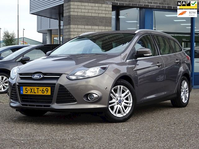 Ford Focus Wagon 1.0 EcoBoost Edition Plus FULL-MAP NAVI ECC PDC V+A LMV MULTI-STUUR CRUISE-CONTROLE