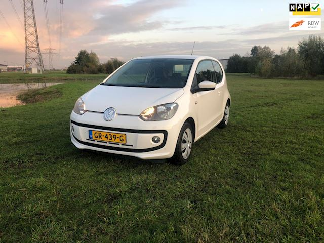 Volkswagen Up! 1.0 high up! BlueMotion Rijdt deze Up al vanaf €89 per maand