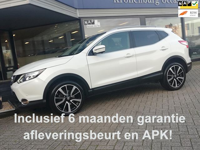 Nissan Qashqai 1.6 TEKNA FULL-OPTION!! (LEDER PANORAMA TREKHAAK CAMERA NAVI PDC- V+A CLIMATE CRUISE)
