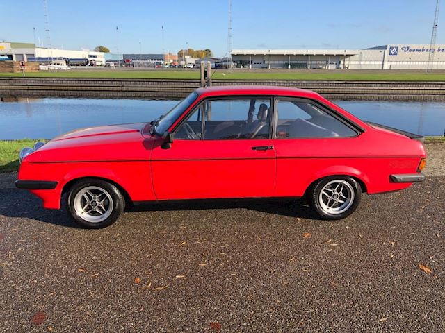 Ford Escort 2.0 RS 2000 / Uniek / collectors item / matching motor nummer / MK2