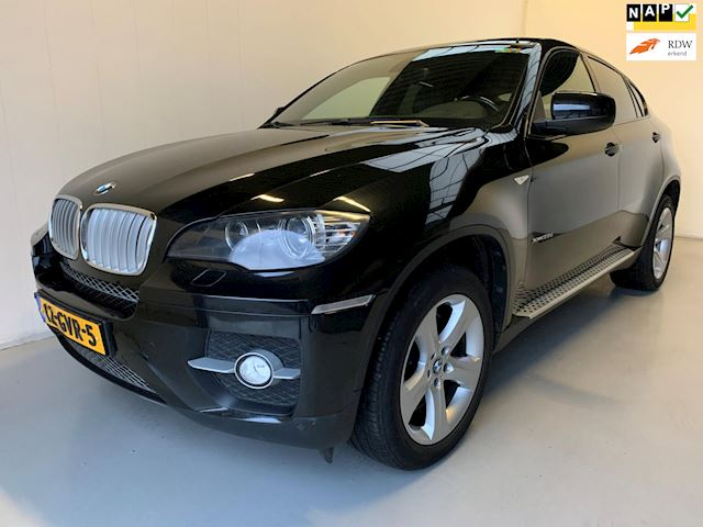 BMW X6 3.5d High Executive Head-up Navi Schuifdak Keyless go PDC Xenon