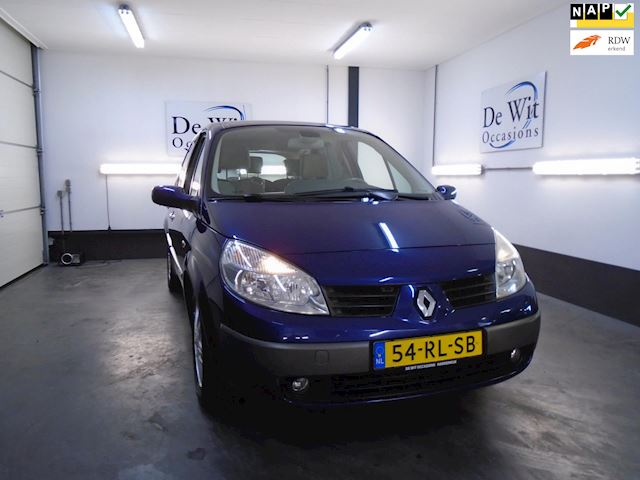 Renault Scénic 2.0-16V Dynamique Luxe AUT. !! ORG. 70000 KM.!! in ZEER NETTE STAAT !! incl. NWE APK .