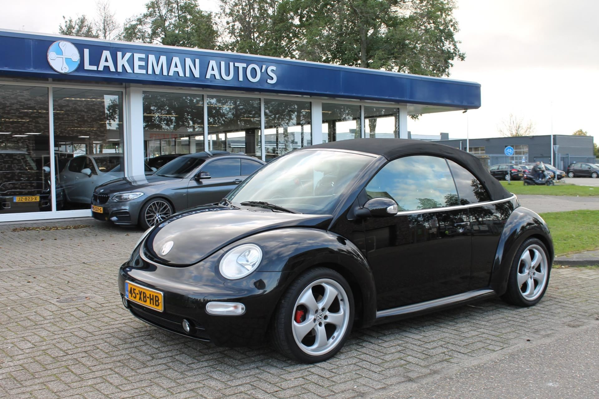 Volkswagen New Beetle Cabriolet occasion - Lakeman auto's Almere B.V.