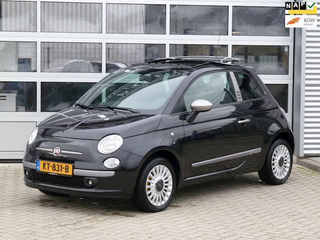 Fiat 500 1.4-16V byDiesel BJ.2010 PANORAMA | AIRCO.