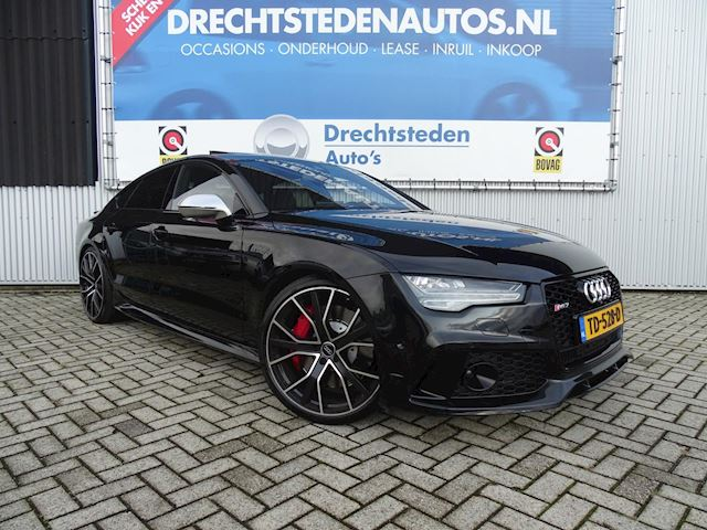 "Audi RS7 4.0 TFSI 720PK! Black Edition! 360ºCam! Matrix/LED! 21""Inch! Head up! Adaptive cruise! Bose!"