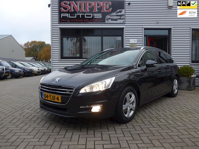 Peugeot 508 SW 1.6 e-HDi Blue Lease Executive -CLIMA-PANORAMA-NAVI-TREKHAAK-PDC ACHTER-