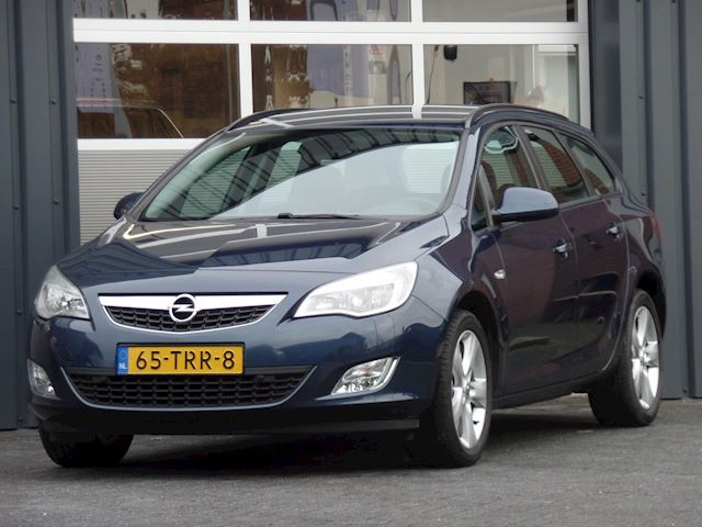 Opel Astra Sports Tourer 1.4 Turbo Edition Automaat Navigatie Climatecontrol Dealer onderhouden
