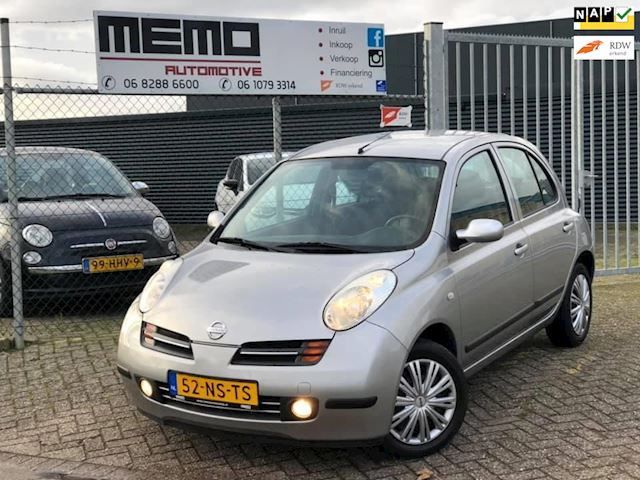 Nissan Micra 1.4 Acenta *Automaat*Airco*NAP*Lage KM*