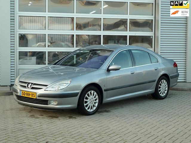 Peugeot 607 2.2-16V HDI Pack BJ.2001 AUTOMAAT | CLIMA.