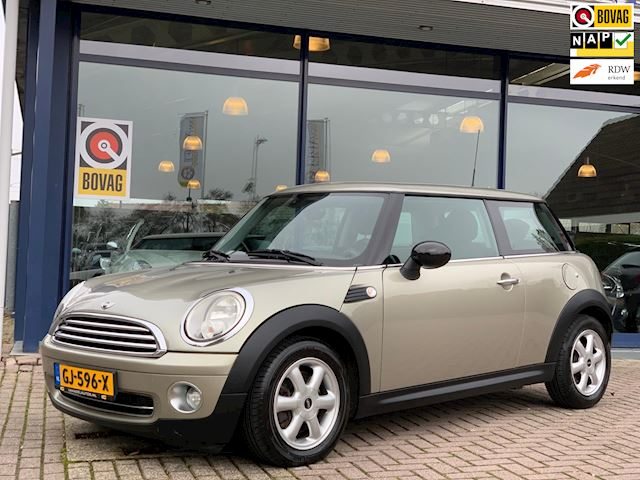 Mini One 1.4 6Bak Panorama Airco LmVelgen Dealer Onderhouden!