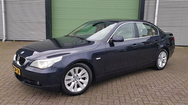 BMW 5-serie 3.0 D 530 AUT 2004 Blauw YOUNGTIMER*LAGE KMSTAND
