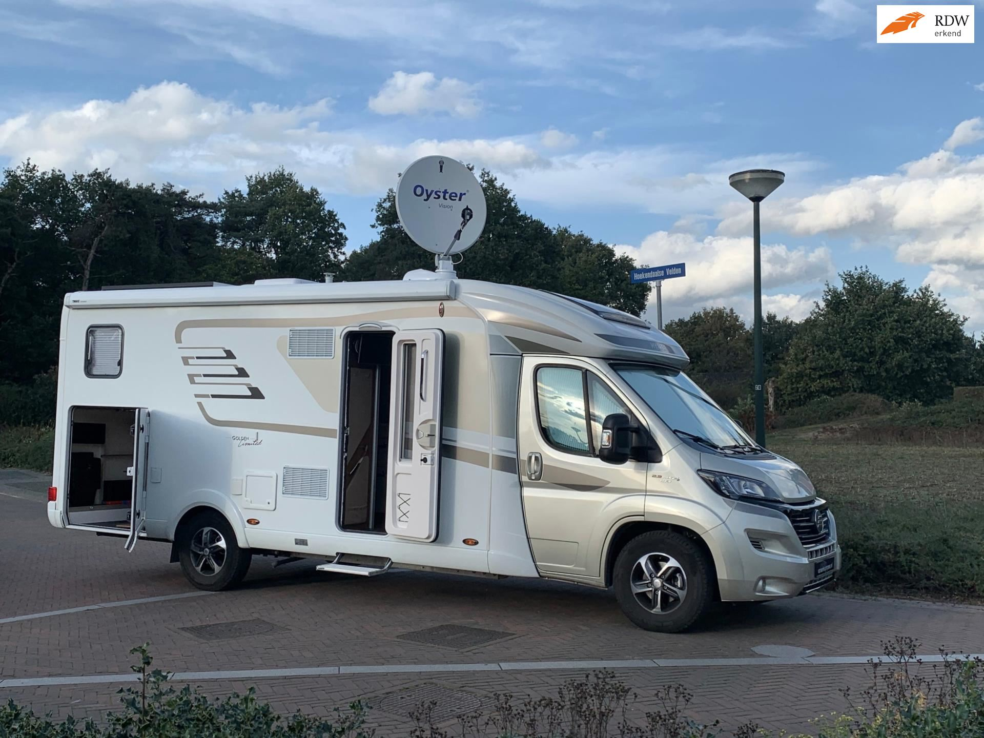 Hymer T 678 Golden Limited-Enkele bedden-2017-1e eig-Bomvol occasion - Eric van Aerle Auto's