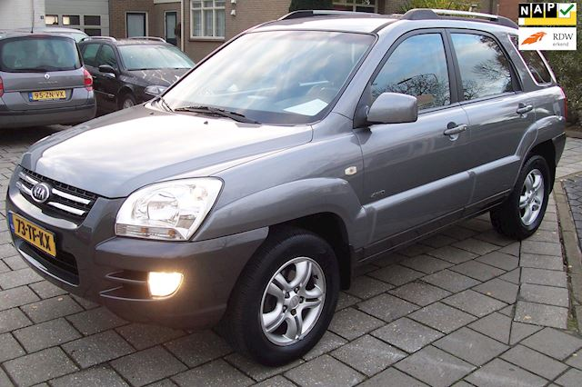 Kia Sportage 2.7 V6 Adventure 4WD 5 Drs Airco/clima.Cruise. Hoge zit.LM Velgen. Lage km stand.Camera.Trekhaak