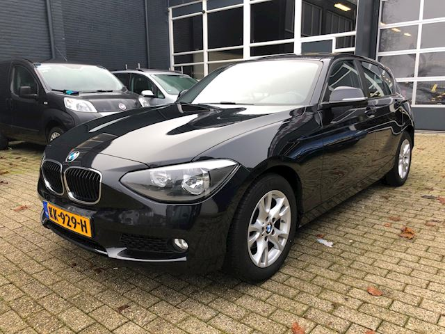 BMW 1-serie 114d Corporate Lease High Executive navi/climate/pdc/lm/cv/113dkm