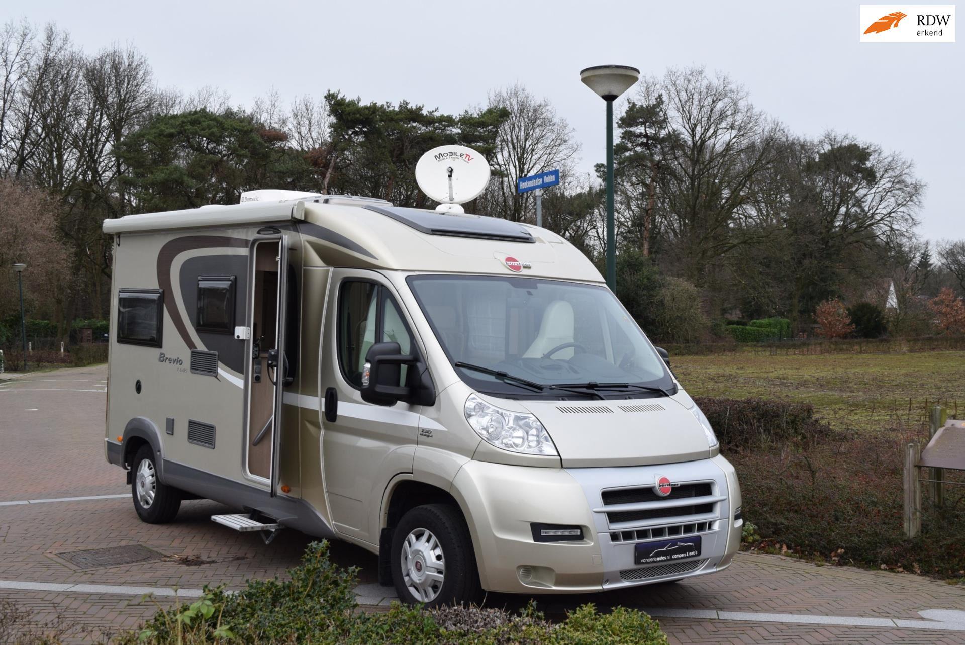 Burstner Brevio 605 Buscamper alternatief-2015-Bomvol-2x airco-Zgan occasion - Eric van Aerle Auto's