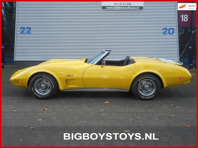 Chevrolet USA Corvette Convertible C3 Stingray Convertible