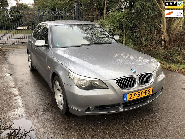 BMW 5-serie 525d Business Executive AUT, Navi, Nieuwstaat, NAP