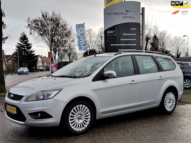 Ford Focus Wagon 1.6 Titanium Clima Cruise Navi Parkeersensor Boekjes Nap