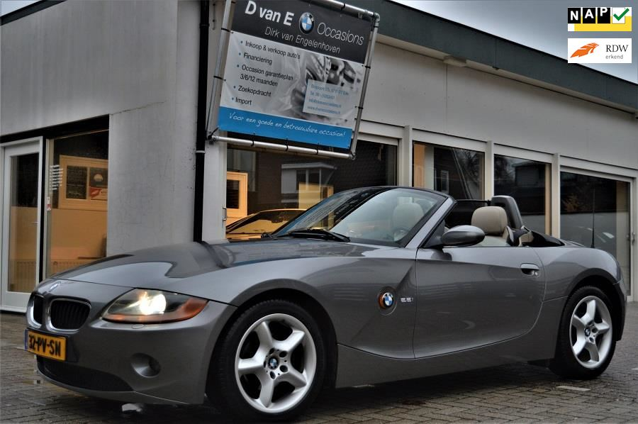 BMW Z4 Roadster occasion - D van E Occasions