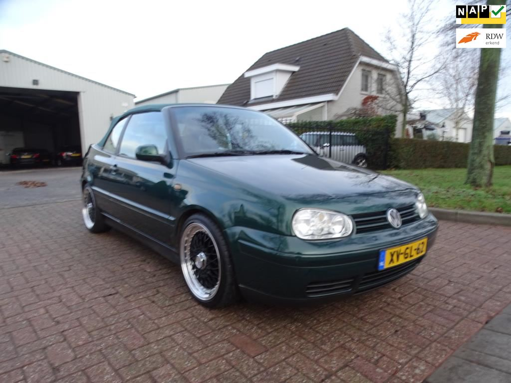 Volkswagen Golf Cabriolet occasion - Calimero Cars