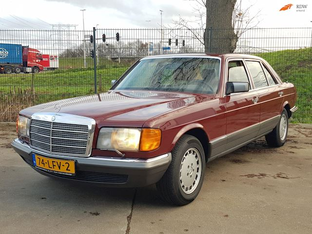 Mercedes-Benz S-klasse 500 SEL in perfecte staat! 1983
