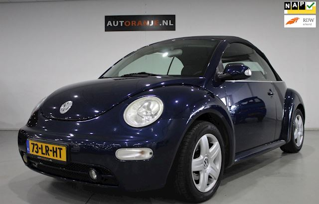 Volkswagen New Beetle Cabriolet 2.0 Airco, Cr Control, NAP!!