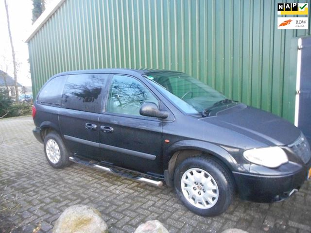 Chrysler Voyager 2.5 CRD SE Luxe High Roof bj 2006 grijs kenteken marge