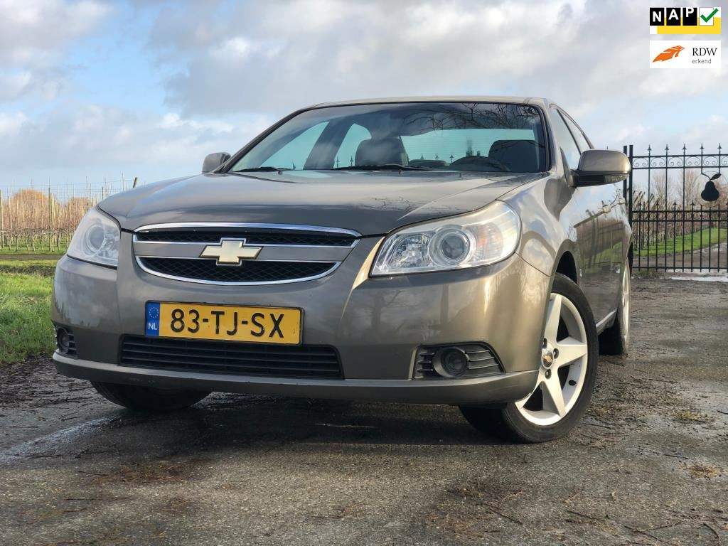Chevrolet Epica 20i Executive Limited Edition Lpg G3full