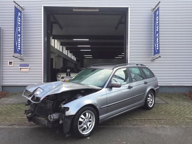 BMW 3-serie Touring 318d Black&Silver II Airco/Clima Schade Voor