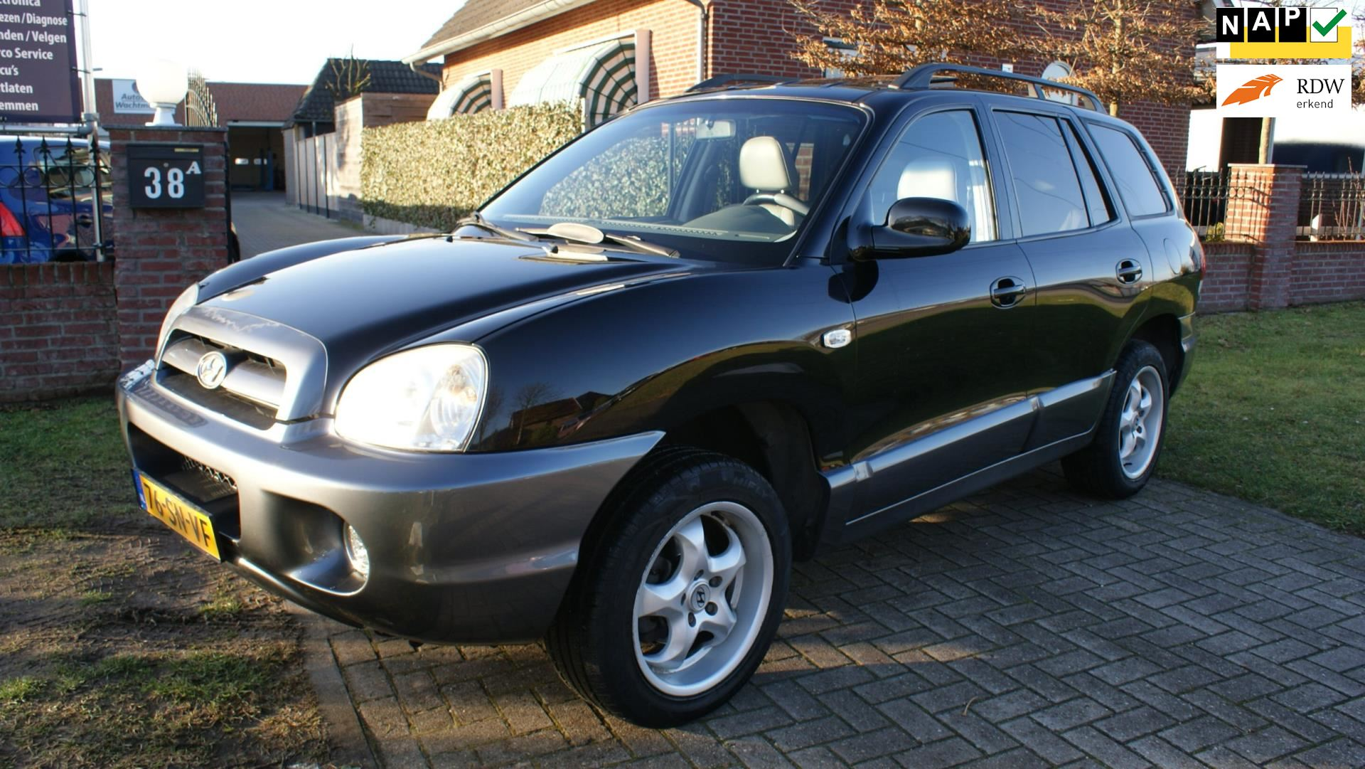 Hyundai Santa Fe occasion - Autoservice Wachtmeester
