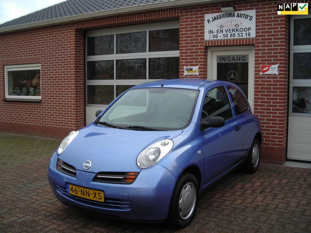 Nissan Micra occasion - Jagersma Auto's