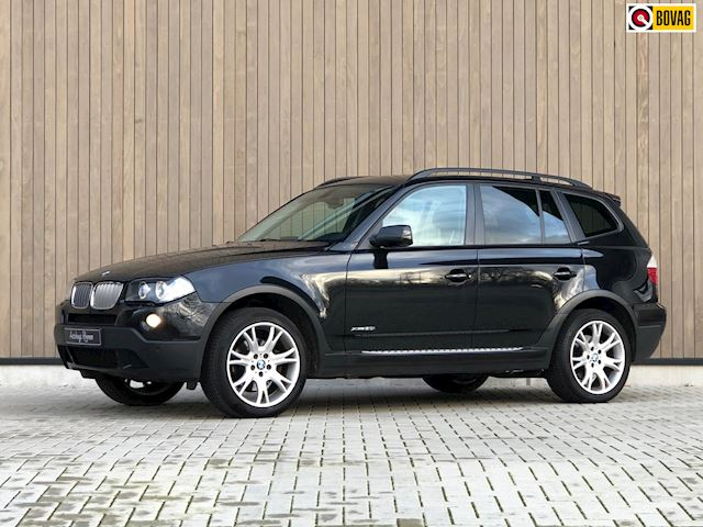 BMW X3 2.0i XDrive Executive 2008 Zwart