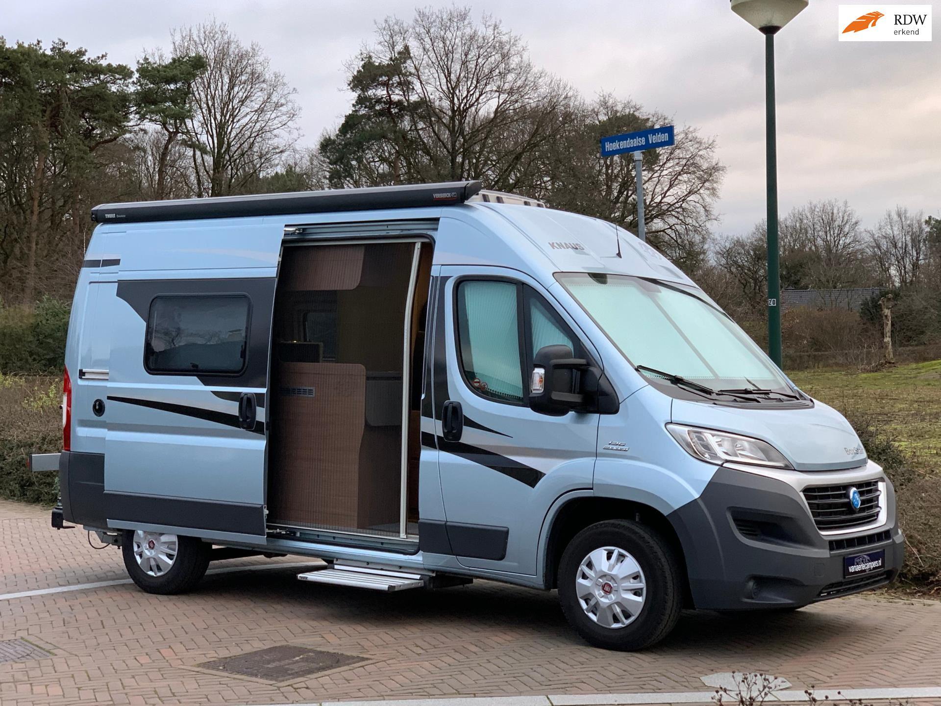 Knaus Boxstar Road 540 lang-04-2015-Nieuwst-1e Eig.-Compacte Buscamper occasion - Eric van Aerle Auto's