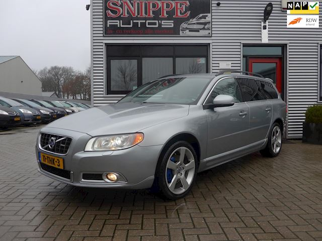Volvo V70 2.0 D3 Limited Edition -VOLLEDER-NAVI-TREKHAAK-REAR ENTERTAINMENT SYSTEM-XENON-