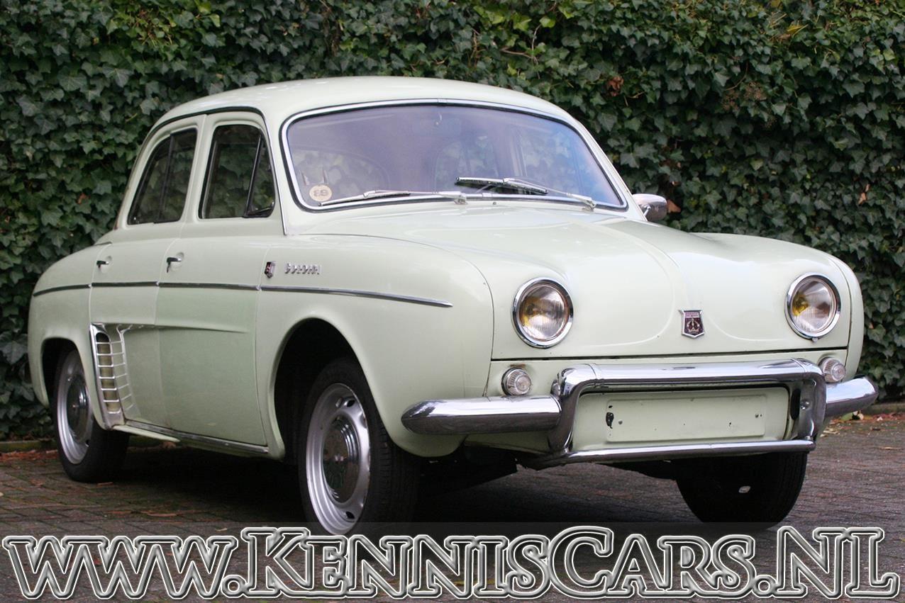 Renault 1963 Dauphine GORDINI occasion - KennisCars.nl