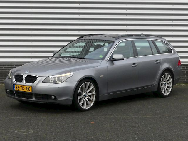 BMW 5-serie Touring 535d Executive Aut., Panoramadak, Leer, 19