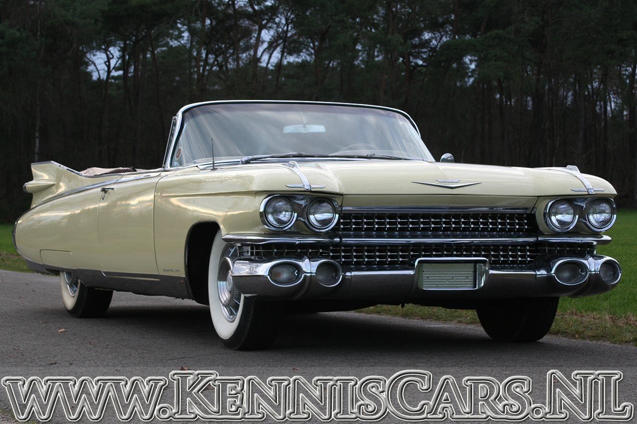Cadillac 1959 Convertible De Ville occasion - KennisCars.nl