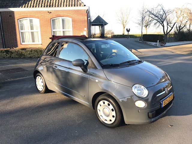 Fiat 500 C 1.2 Pop NARDO GREY CABRIO