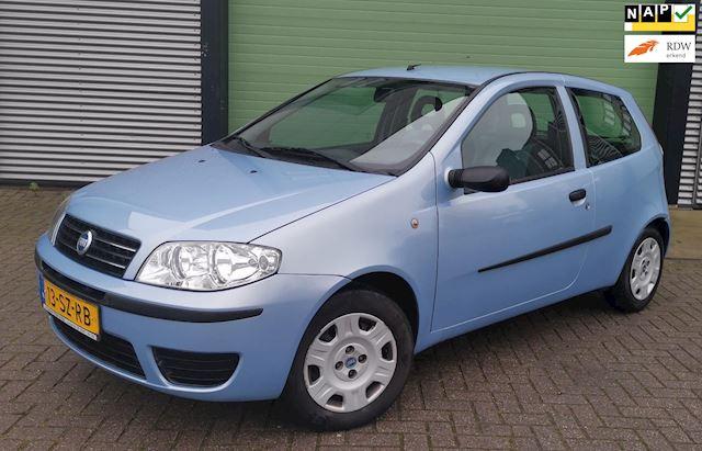 Fiat Punto 1.2 2006 Blauw 3D 1E EIG*NIEUWE APK*NAP*ELEK.PAK