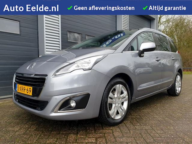 Peugeot 5008 1.6 e-HDi Executive 7 PRS Automaat + Trekhaak + Head-Up + Leder + PanoramaDak + Navigatie !