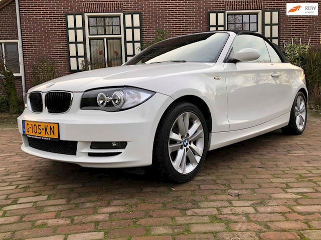 BMW 1-serie Cabrio occasion - Autobedrijf P. Kuepers