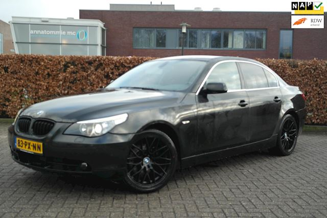 BMW 5-serie 530i High Executive  Sportleder, Navi Pro, 100 Onderhouden,