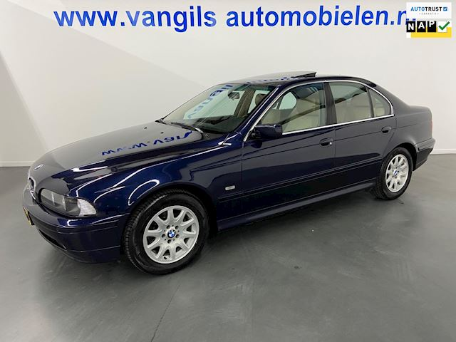 BMW 5-serie 525i Executive AUTOMAAT, LEER, PDC