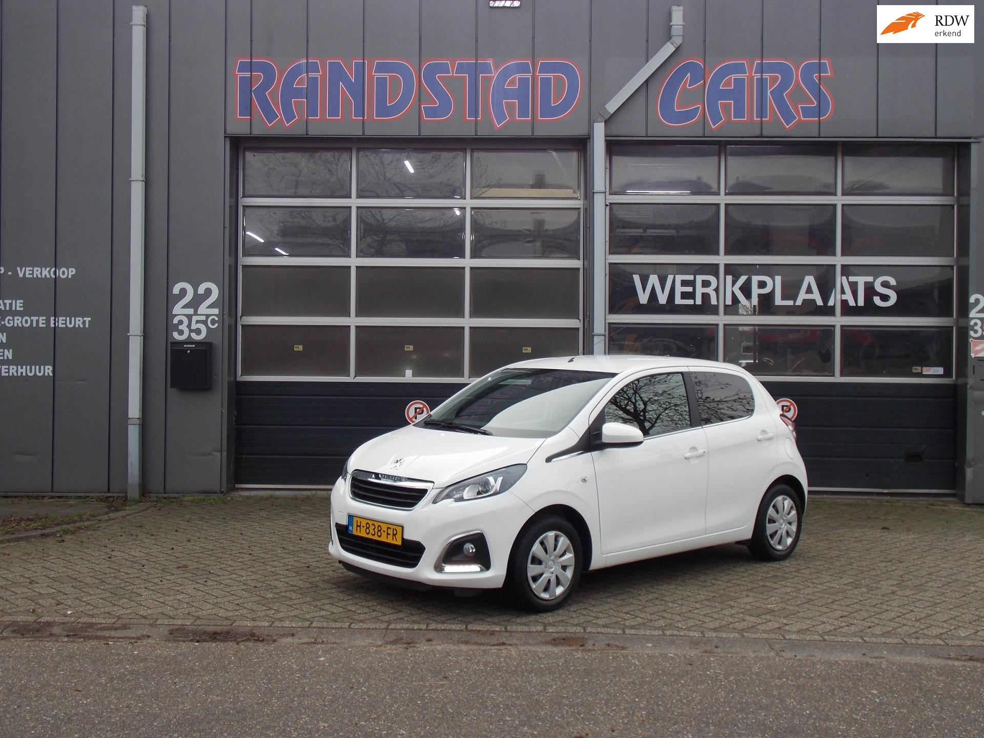 Peugeot 108 occasion - Randstad Cars